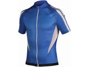 Endura FS260-Pro Printed Short Sleeved Jersey Small Blue  click to zoom image