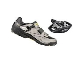 Shimano M163 SPD Shoes 25th Anniversary Grey Includes M530 SPD Pedals