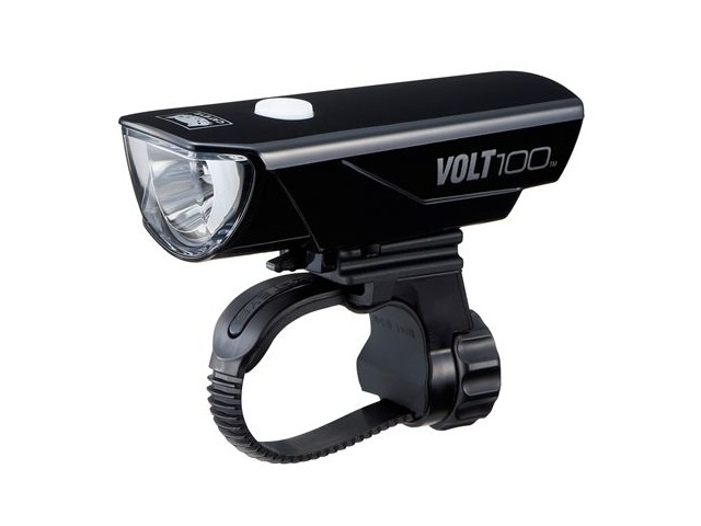 Cateye VOLT 100 USB RC Rechargeable 150 Lumen Cycle Headlight click to zoom image