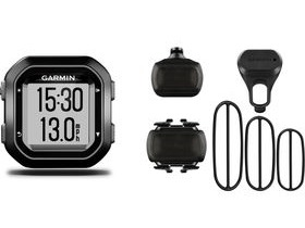 Garmin Edge 25 GPS-Enabled Cycle Computer With Speed And Cadence Sensor Bundle