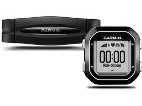 Garmin Edge 25 GPS-Enabled Cycle Computer With Heart Rate Bundle