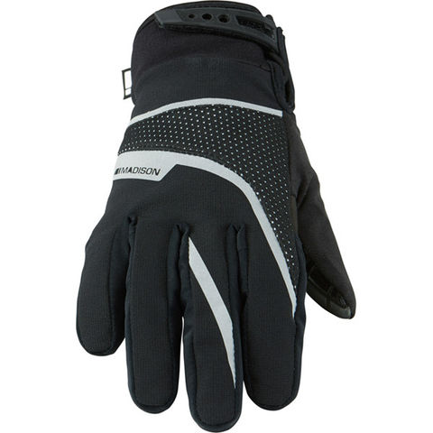 Madison Protec youth waterproof gloves, black click to zoom image