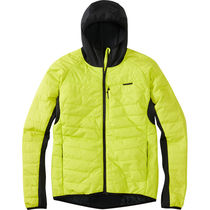Madison DTE men's hybrid jacket, limeaid XX-large
