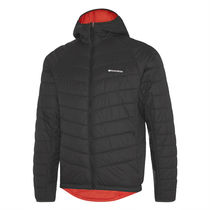 Madison Isoler Insulated Reversible men's jacket, phantom / chilli red