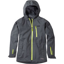 Madison Roam youth waterproof jacket, dark shadow
