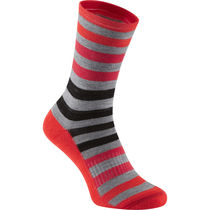 Madison Isoler Merino 3-season sock, red fade