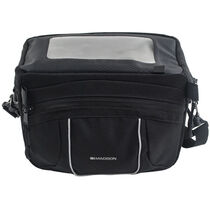 Madison handlebar bag with upper map cover