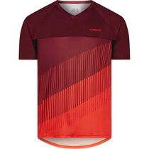 Madison Zenith men's short sleeve jersey, blood red / chilli red