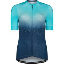 Madison Sportive women's short sleeve jersey, ink navy / aqua blue