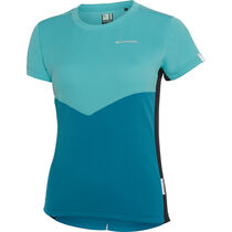 Madison Stellar women's short sleeve jersey, blue radiance / caribbean blue