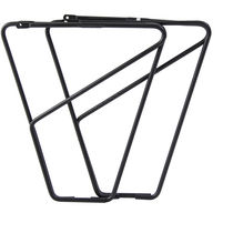 MPart FLR front low rider rack for braze on fitting alloy black