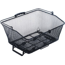 MPart Brocante mesh rear basket with spring clips and handles