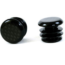 MPart Carbon fibre bar end plugs for Road bikes