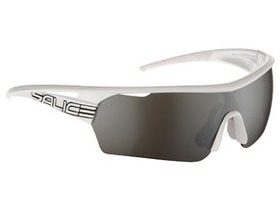 Salice vedi italiano 006 Sunglasses - CRX Smoke Lense/White Black