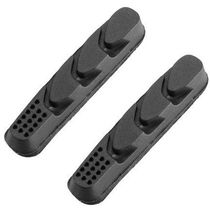 Aztec Campagnolo Road Insert Brake Blocks Charcoal