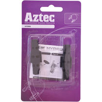 Aztec Hydros brake blocks for Magura hydraulic rim brakes Black