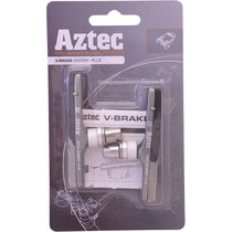 Aztec V-type cartridge system brake blocks Plus Grey / Charcoal