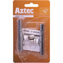 Aztec V-type cartridge system brake blocks standard Grey / Charcoal