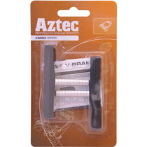 Aztec V-type Grippers brake blocks Charcoal