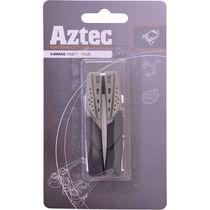 Aztec V-type insert brake blocks Plus Grey / Charcoal