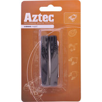 Aztec V-type insert brake blocks standard Charcoal