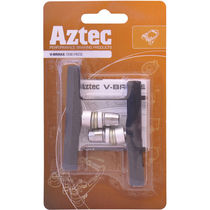 Aztec V-type one-piece brake blocks Charcoal