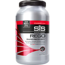 Science In Sport REGO Rapid Recovery drink powder strawberry 1.6 kg tub