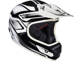 Lazer Phoenix Full Face Downhill BMX Helmet-Black/White