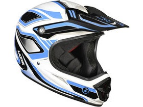 Lazer Phoenix Full Face Downhill BMX Helmet-Blue/White