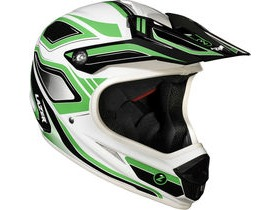 Lazer Phoenix Full Face Downhill BMX Helmet-Green/White