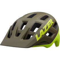 Lazer Coyote Helmet, Matt Green/Flash Yellow