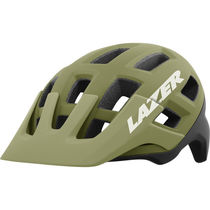 Lazer Coyote Helmet, Matt Khaki/Orange