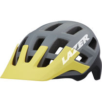 Lazer Coyote Helmet, Matt Matt Grey/Yellow