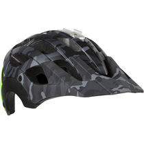Lazer Revolution matt black camo / flash green