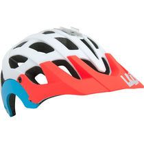 Lazer Revolution matt white/coral/blue