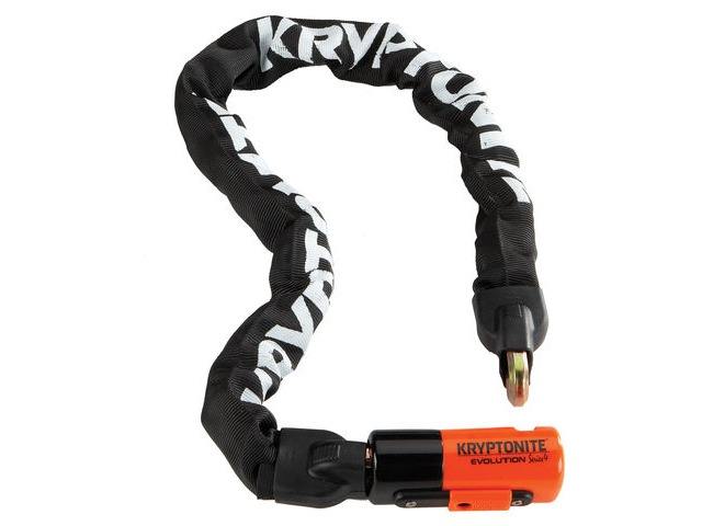 Kryptonite Evolution Series 4 1090 Integrated Chain click to zoom image
