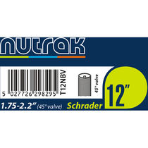 "Nutrak 12x1.75 - 2.125"" Schrader with 45 degree valve"