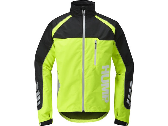 Hump Strobe Waterproof Jacket Safety Yellow - Mens click to zoom image