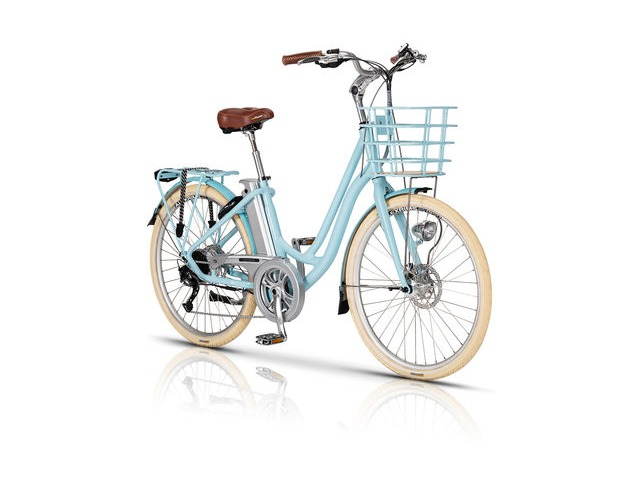 Volt Kensington Step Through Electric Bike Small Wheel & Frame click to zoom image