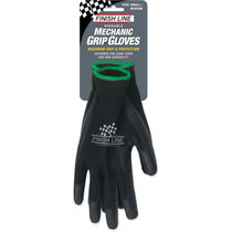 Finish Line Mechanic Grip Gloves (Small / Medium)
