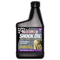 Finish Line Shock oil 10wt 16oz/475ml