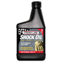 Finish Line Shock oil 5wt 16oz/475ml