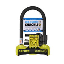 Oxford Products Shackle 14 U-Lock 260 x 177mm - Yellow