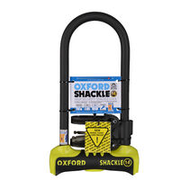 Oxford Products Shackle 14 U-Lock 320 x 177mm - Yellow