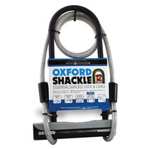Oxford Products Shackle12 Duo U-Lock & 1200mm Lockmate