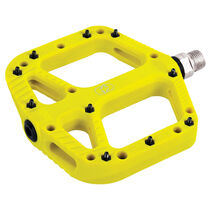 Oxford Products Loam 20 Nylon Flat Pedals Yellow